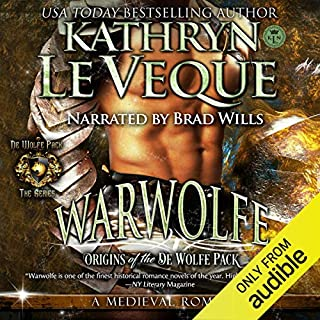 Warwolfe audiobook cover art