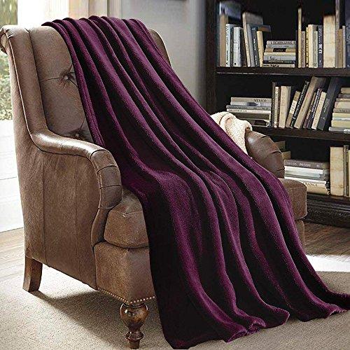 eggplant throw blankets Plush Throw Blanket 50