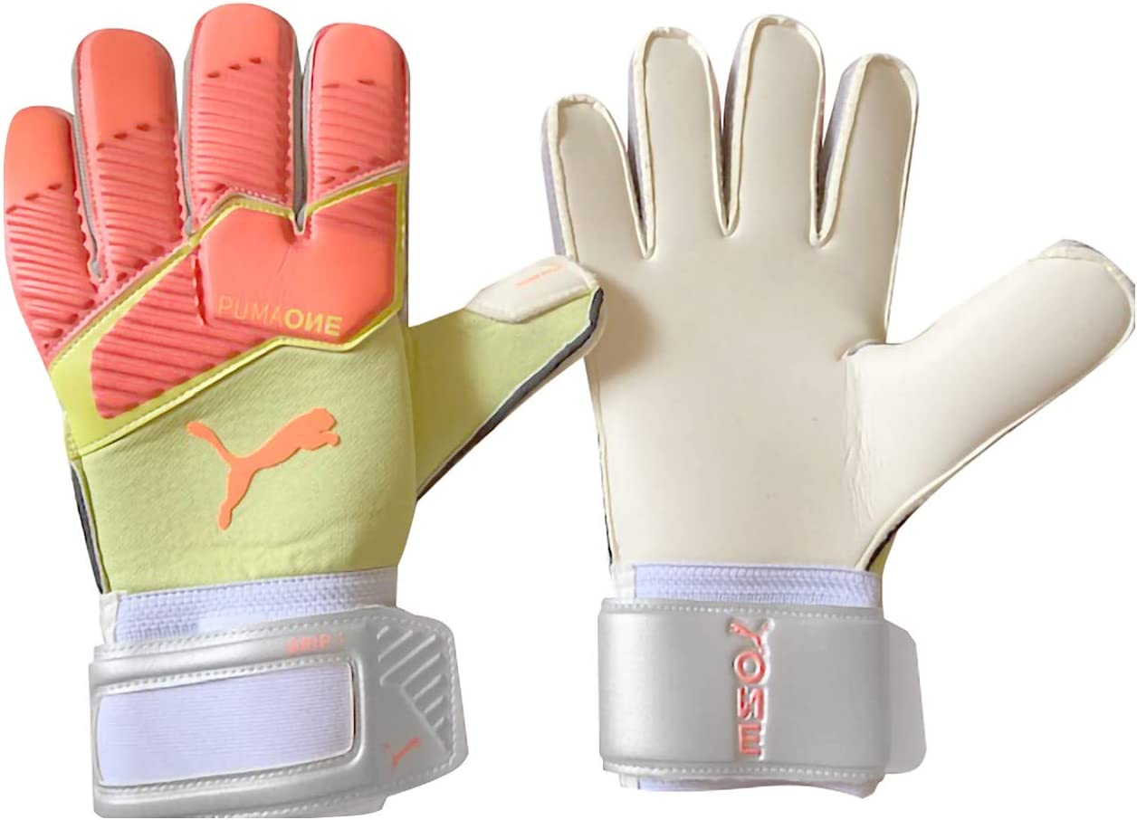 PUMA ONE Grip Max Cheap mail order sales 62% OFF 1 Gloves Size RC Goalkeeper