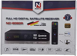 نادكو جهاز استقبال الأقمار الصناعية - NC-2020R