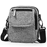 XINCADA Small Messenger Bag Mini Man Bag Crossbody Bag Shoulder Bags Purse for Men and Women