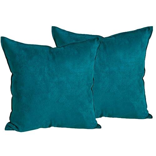 Teal Decorative Pillows: Amazon.com