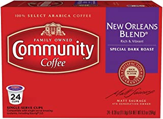 Community Coffee Dark Roast, New Orleans Blend Special, 24 Count