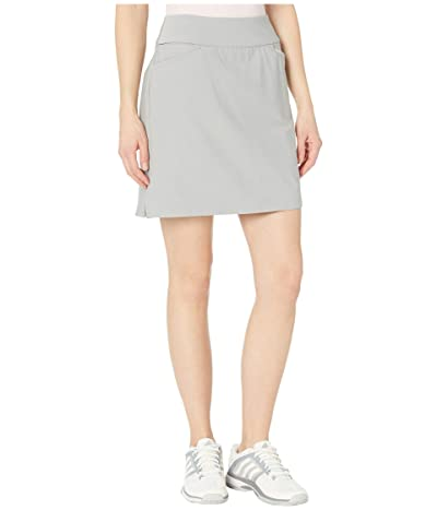 adidas Golf Adistar Pull On 18 Skort (Medium Solid Grey) Women