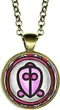My Altar Adinkra ODO NNYEW FIE Kwan Power of Love Bronze Pendant