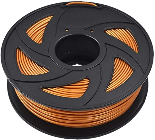 high quality ABS 3D Printer Filament - new arrival 2.20 lb (1KG) The Diameter of 3.00 mm, Dimensional Accuracy ABS popular Multiple Color (Gold) outlet online sale