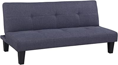 Amazon.com: Festnight Loveseat Fabric Sofa Couch 2 Seater ...