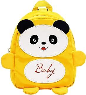 Mochila Infantil Panda ZSWQ Mochila Infantil Kindergarten Pequeñas Mochilas Bolsas Escolares De Dibujos Animados Animales Primaria Linda Bolso Bebe Guarderia Preescolar Para 1-5 Años ( 17 * 10 * 21CM)