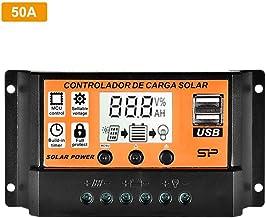 N/Z Solar Charge Controller Solar Panel Battery Intelligent Regulator with Dual USB Port 12V/24V PWM Auto Paremeter Adjust...