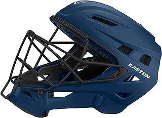 EASTON ELITE X Baseball Catchers Helmet | Matte Color | 2020 | High Impact Absorption Foam | Moisture Wicking BIODRI liner | High Impact Resistant ABS Shell | Steel Cage | NOCSAE Approved