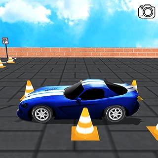 racing car parking