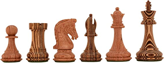 Limited Edition Imperial Collector Series (Sinquefield Cup 2014) Wooden Chess Set - 3.75