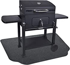 Fasmov 36 x 50 inches Under The Grill Protective Deck and Patio Mat
