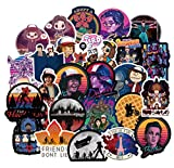 Ratgoo 50 Pack Laptop Vinyl Stickers of Stranger Things for Water Bottles Mac Phone Motorcycle Bicycle Guitar Skateboard Hydro Flask Car Bumper to Teens Kids Men Adult