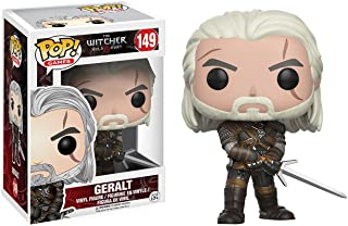 Funko Pop Games: Witcher Geralt, Action Figures 12134, Multi Color, 3.75 inches