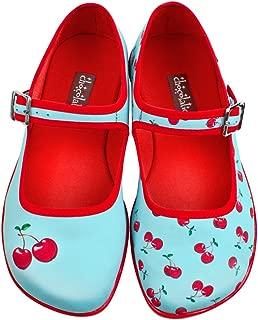 Hot Chocolate Design Chocolaticas Cherry Women's Mary Jane Flats