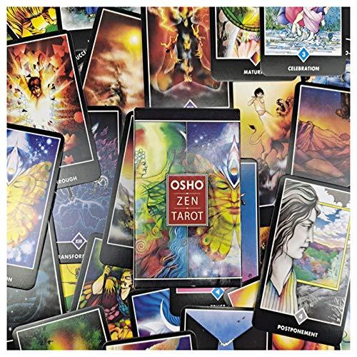 Tarot Oracle Tarjetas, 78 Tarjetas Tarjetas Tarot Osho Zen Tarot Juego Tarjetas Tarjetas Juegos De Mesa