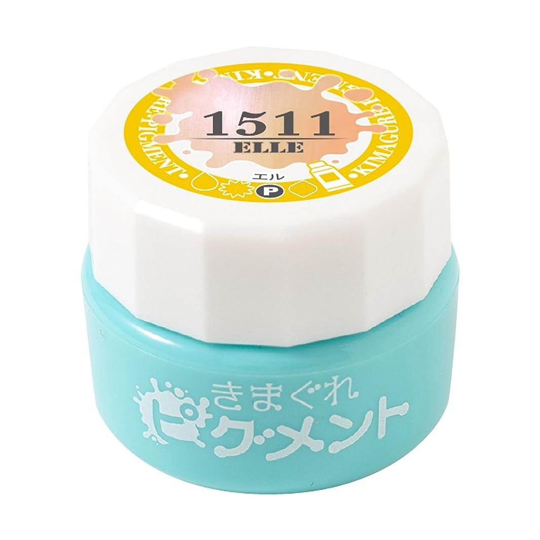 どこでもアレルギー性実施するBettygel きまぐれピグメント エル QYJ-1511 4g UV/LED対応