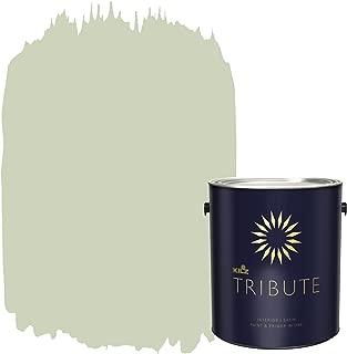 KILZ TRIBUTE Interior Satin Paint and Primer in One, 1 Gallon, Palo Verde (TB-72)