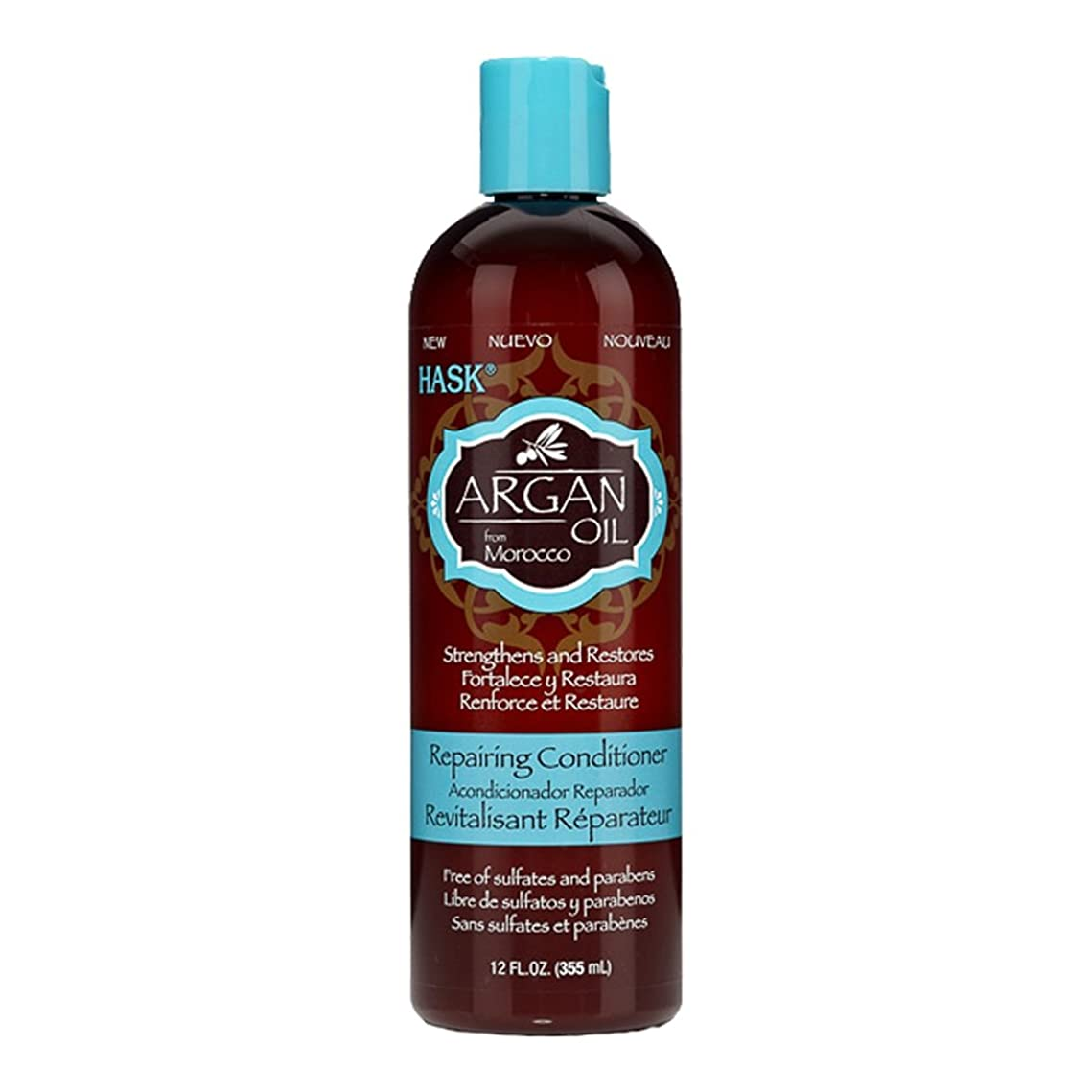論理的眼ロケット(3 Pack) HASK Argan Oil Repairing Conditioner, 12 oz (並行輸入品)