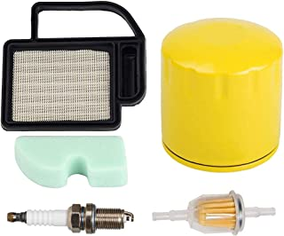 HIFROM Replace Air Pre Filter Fuel Filter Oil Filter with Spark Plug for Kohler SV470-610 15-21 Replace 20-083-06-S 20-083-02S 2008302 Cub Cadet KH-20 883 02-S1 Craftsman 24642 Ariens 21541600