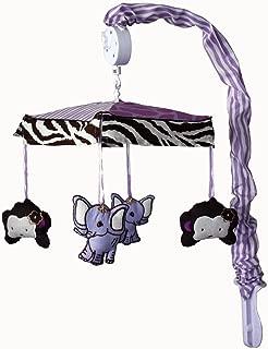 Music Mobile Baby Boutique 14 Pcs Girl Nursery Crib Bedding Set incl Safari