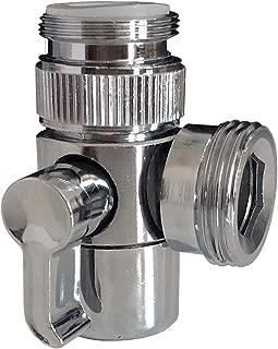 MissMin Sink Faucet diverter with adapter to garden hose/bidet shower hose