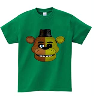 KoreaFashion FNAF Shirt Cotton Merch Shirts for Kids Youth Birthday Welcome Funny Nightmare Collectables