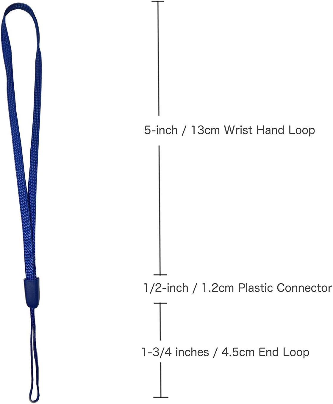 Yaxiny Hand Wrist Strap Lanyard for Cell Phone Mp3 Mp4 USB Flash Drive 50PCS, Green Mini Camera