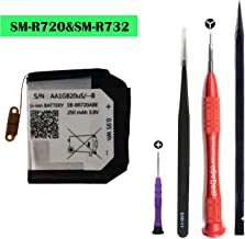 oGoDeal EB-BR720ABE Battery Replacement Compatible for Samsung Gear S2 sm-R720 and Gear S2 Classic sm-R732 Smartwatch with Battery DIY Repair Tool