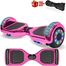 Best hoverboard bluetooth and led lights Reviews