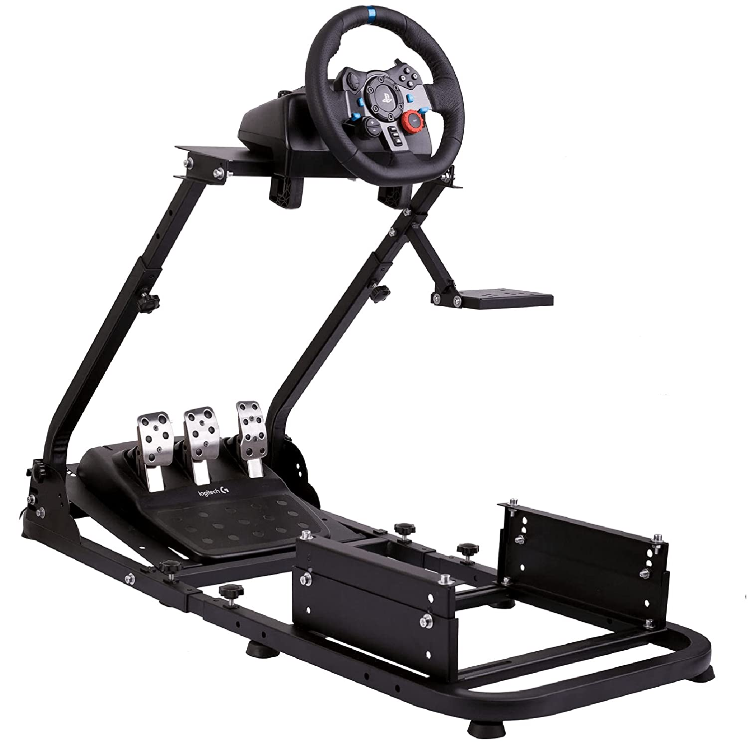 Anman Racing Wheel Stand fit for PC Adjustable PS4 Popular XBOX Max 72% OFF S