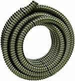 Southwire 55092501 AL flex Type Rwa Reduced Wall Flexible Conduit, 1 In X 50 Ft Coil, Aluminum