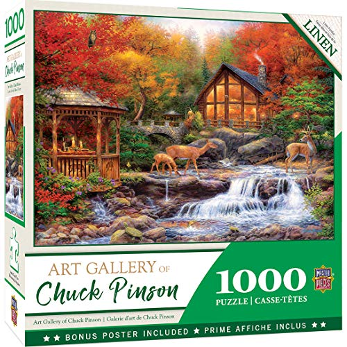 MasterPieces Chuck Pinson - Colors of Life 1000-Piece Linen Jigsaw Puzzle