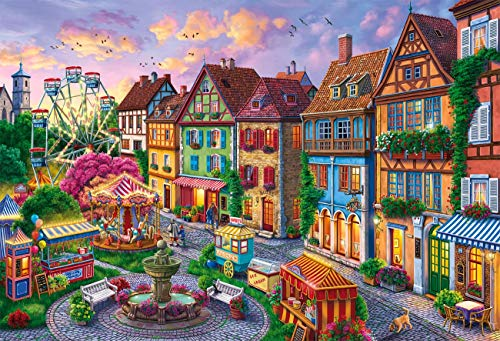 """Jigsaw Puzzle 1000 Piece - Puzzles for Adults Kids - Puzzle Toys Family Games Decorative Home - (27.6""""x 19.7"""" inch)"""