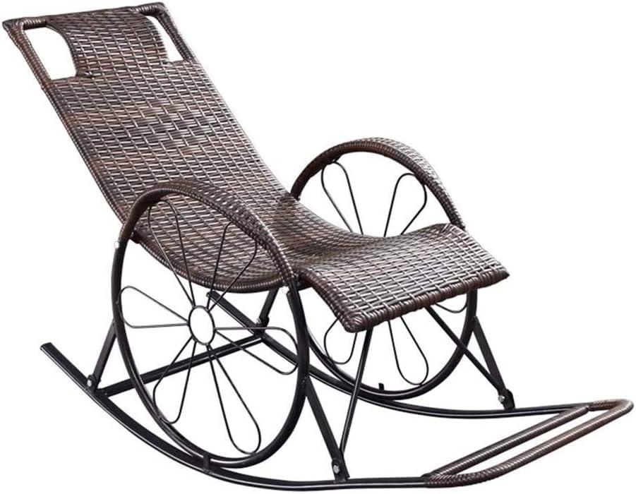 ZHANGYN Rocking Chair Garden supreme Furniture Outdoor Houston Mall Por