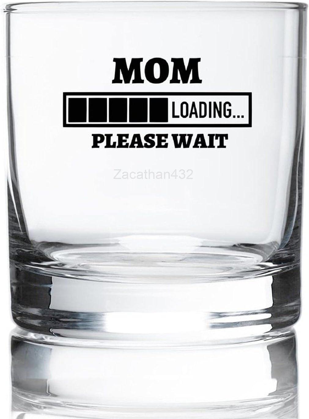 MOM Loading Please Wait Whiskey Drinkin Glass Large-scale sale ...