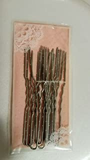 1 Pack Amish Heavy Duty u Shape Hair Pins for Thin or Thick Hair (3 Inch Crinkled Silver)