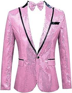 muy agradable primer nivel gama muy codiciada de Amazon.es: Rosa - Blazers / Trajes y blazers: Ropa