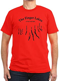 CafePress - Finger-Lakes 2 Logo.Png T-Shirt - Men's Fitted T-Shirt, Stylish Printed Vintage Fit T-Shirt