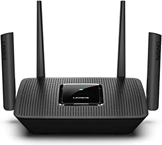 Linksys Mesh WiFi Router (Tri-Band Router, Wireless Mesh Router for Home AC3000), Future-Proof MU-Mimo Fast Wireless Router