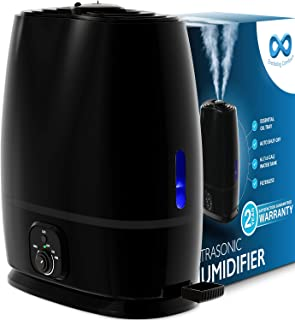 Everlasting Comfort Cool Mist Humidifier for Bedroom with...