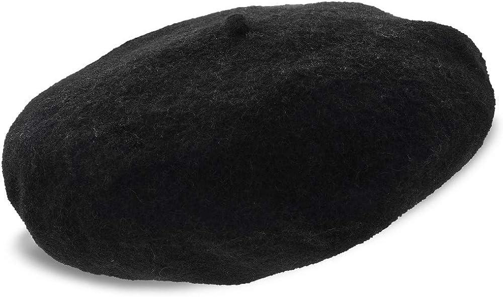 Stetson Adelaide Wool Beret Cap