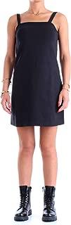 Calvin Klein Women's 8719113658-Black Calvin Klein Jeans A-Line Milano Slip Dress for Women - CK Black