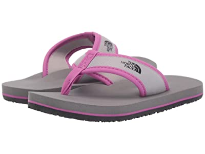 The North Face Kids Base Camp Flip-Flop (Toddler/Little Kid/Big Kid) (Q-Silver Grey/Wisteria Purple) Girls Shoes