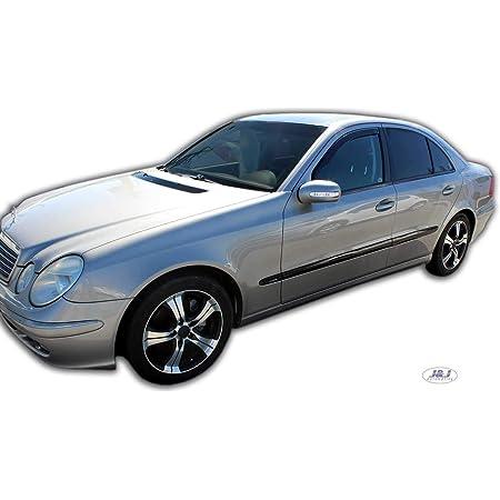J J Automotive Windabweiser Regenabweiser Für Mercedes E Klasse W211 2002 2009 4tlg Heko Dunkel Auto