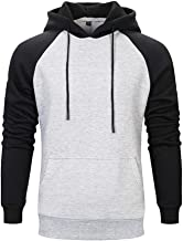 Snowmolle Couple Wear Hoodies Pullover Casual Colorblock Patchwork Sports Outwear Crew Neck Sweatshirts