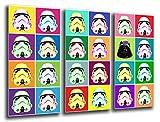 Cuadro Fotográfico Ejercito Darth Vader, Star Wars Tamaño total: 97 x 62 cm XXL