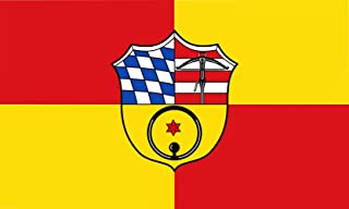 magFlags Large Flag Municipality of Ottersheim bei Landau | Landscape Flag | 1.35m² | 14.5sqft | 90x150cm | 3x5ft - 100% M...