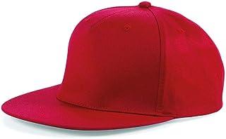 MKR Snapback Flat Peak Cap Baseball Hat 5 Panel 100% Cotton